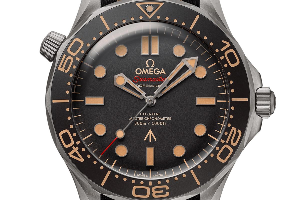 Il quadrante dell'Omega Seamaster 007