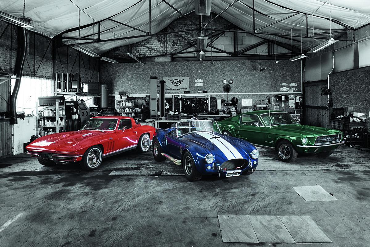 Le auto che hanno ispirato la collezione Top Time Classic Cars di Breitling