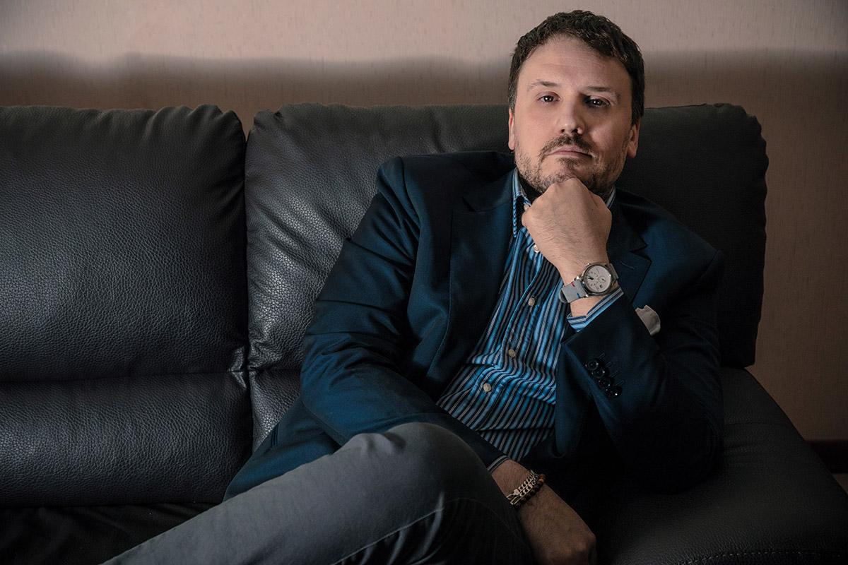 Fabrizio Dellachà, coordinatore del gruppo WOI - Watches of Italy