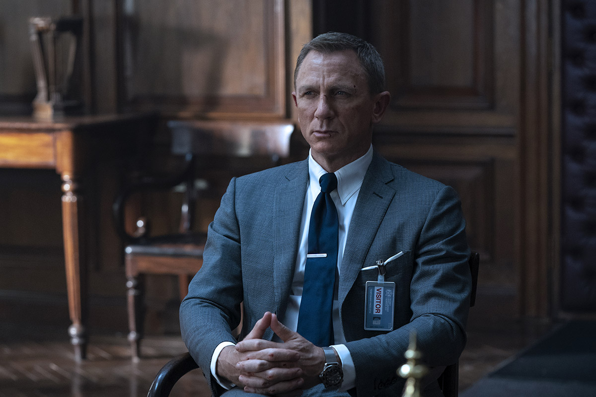 Daniel Craig/James Bond in No Time to Die