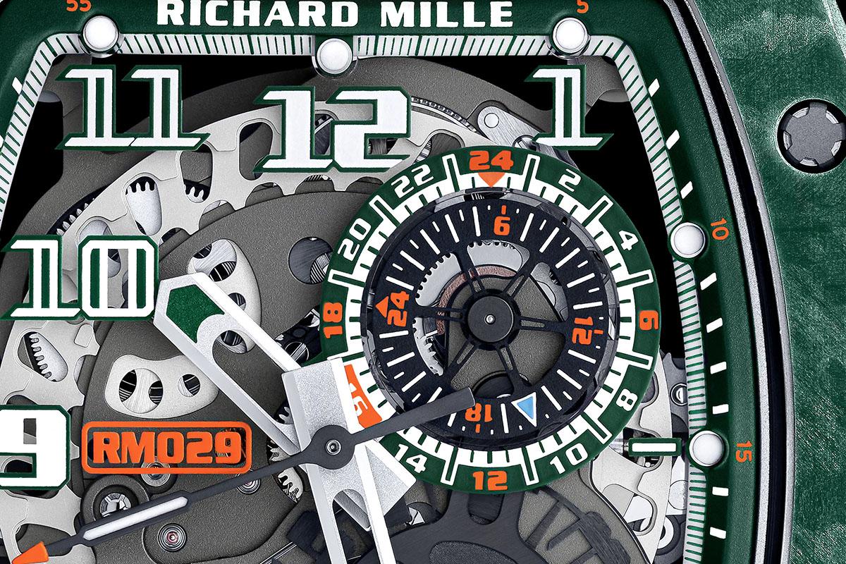Il contatore delle 24 ore nell'RM 029 Le Mans Classic