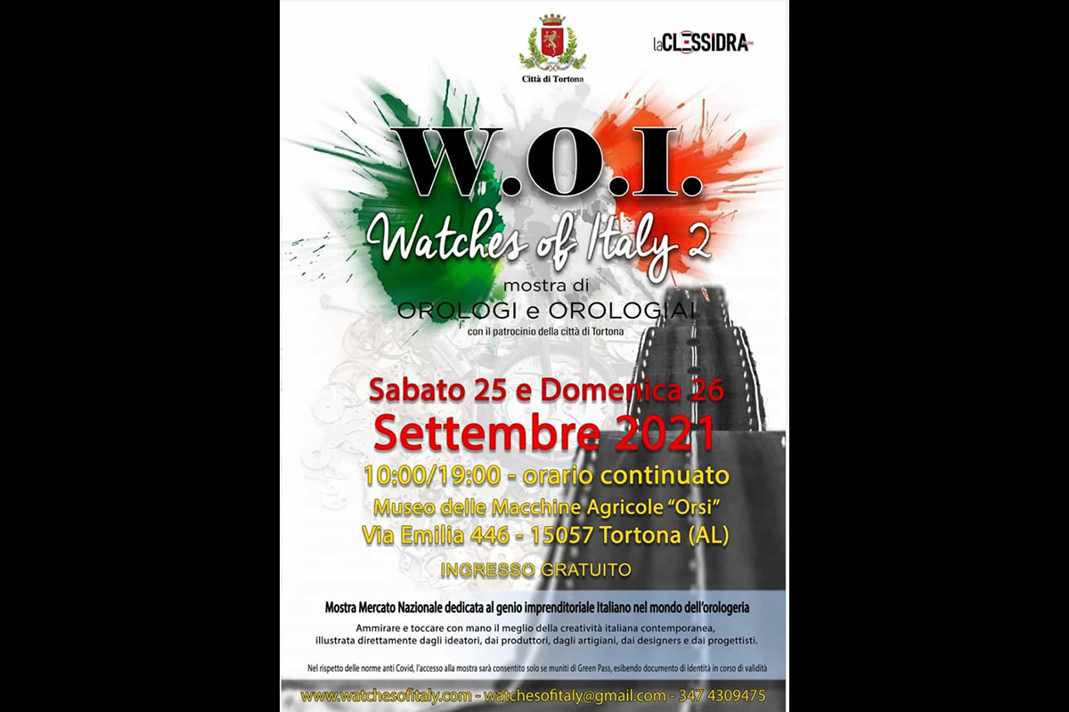La locandina di Woi - Watches of Italy